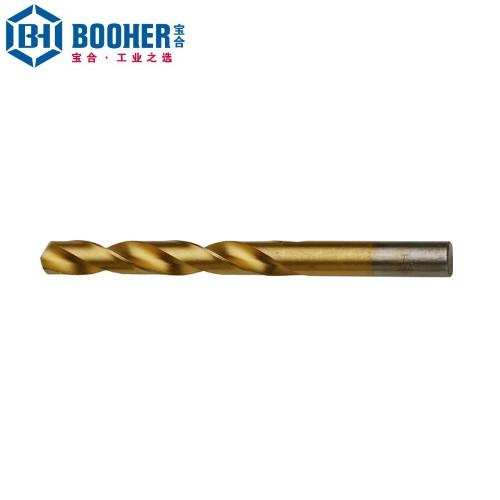 宝合 1402045 高速钢镀钛直柄麻花钻4.5mm