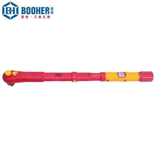 宝合 0219408 1/2英寸注塑型双色绝缘扭力扳手40-200N.m
