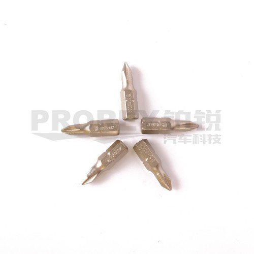 钢盾 S053003 5件套6.3mm系列25长十字旋具头PH2