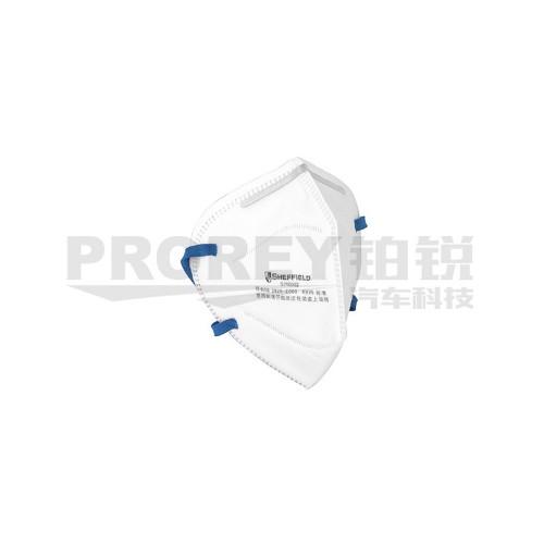 钢盾 S190002 KN95折叠式颗粒物防护口罩(头戴式)