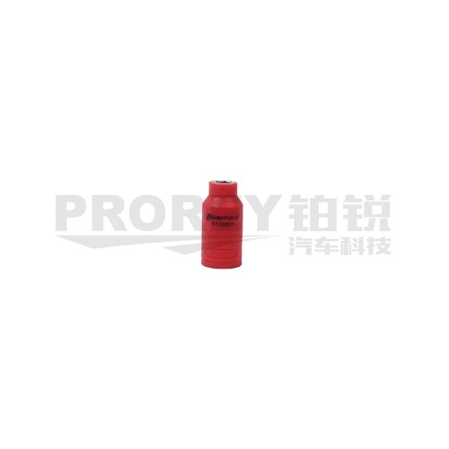 钢盾 S155012 3/8英寸注塑型单色绝缘公制套筒22mm