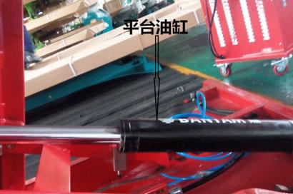 图片5-将节流阀拆掉,若还不能下降则为油缸损坏需更换或维修