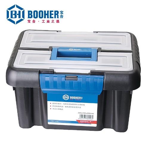 宝合 0501215 超强型塑料工具箱355x260x200mm
