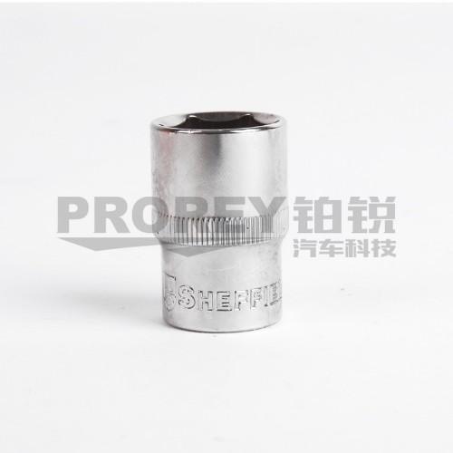 钢盾 S011621 12.5mm系列公制6角标准套筒21mm