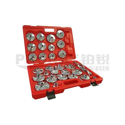 百思泰 6717 全新30件全车系钢板机油芯扳手组套