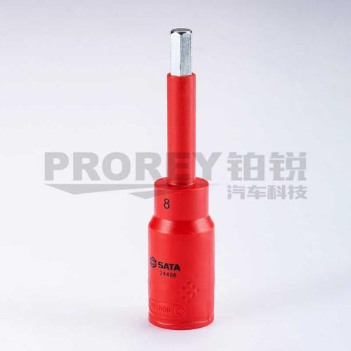 世达 24404 12.5mm系列VDE绝缘六角旋具套筒4mm