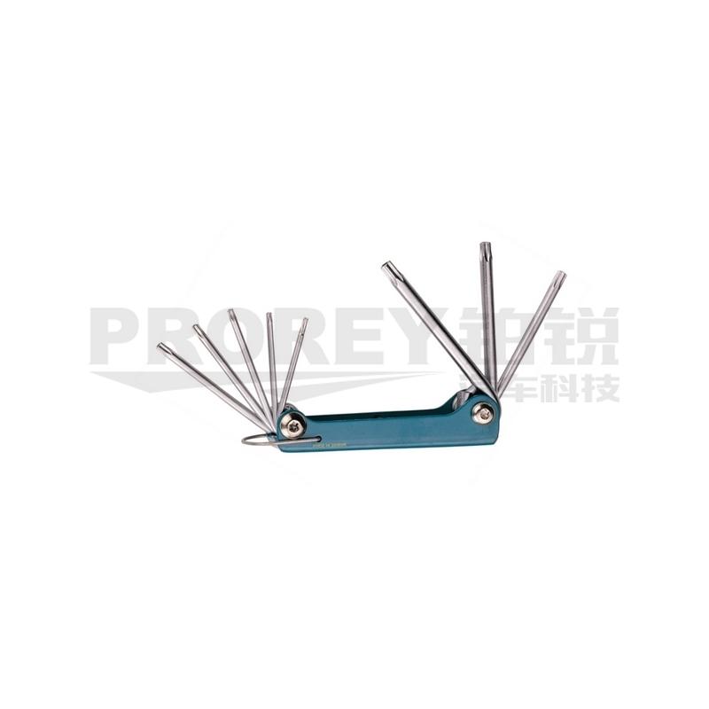 GW-130035654-TJG S2558 8PCS中空星型折叠扳手 主图