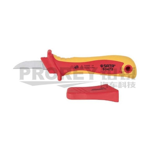 世达 93472 直刃式VDE绝缘电缆剥线刀