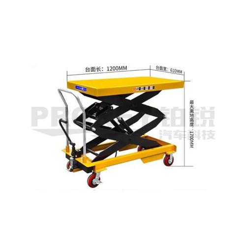 爵力 1500-800mm 动力电池拆装升降车(含绝缘垫)