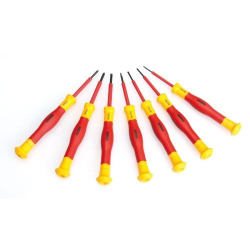 宝合 0211302 双色绝缘一字精密螺丝批3.0x50mm