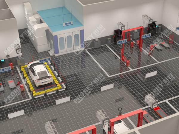 上海艾伯特汽车维修中心设计方案