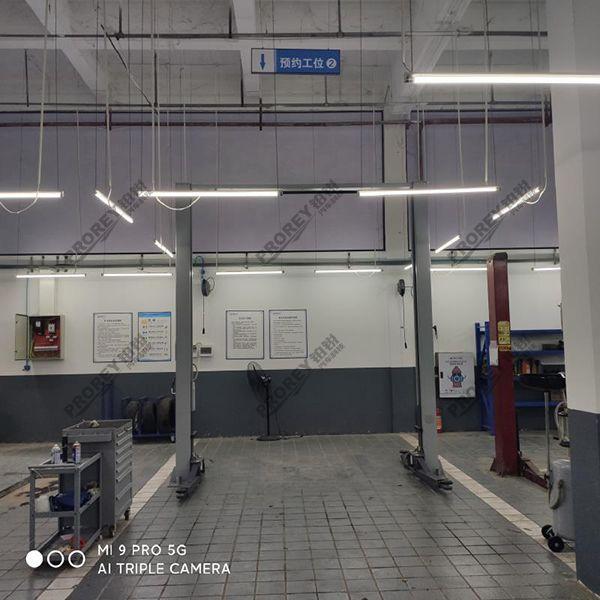 重庆宝能4S店-重庆万州店-龙门举升机