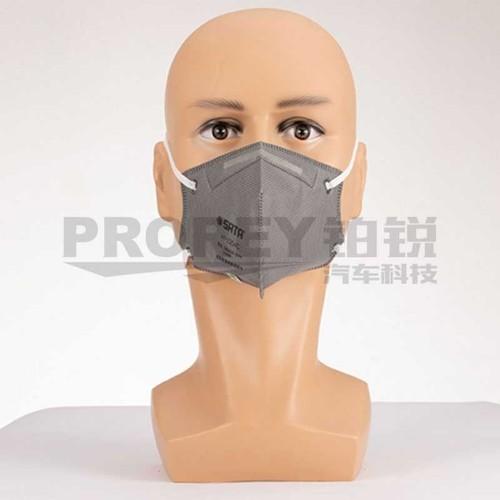 世达 HF0204C 自吸过滤式防颗粒物呼吸器[KN95折叠活性炭 口罩]