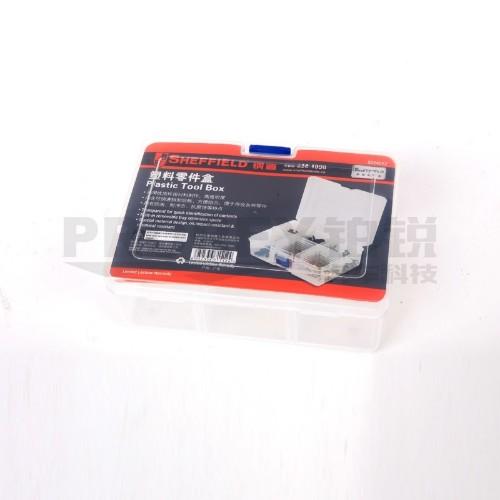 钢盾 S024012 塑料零件盒167x126x62mm