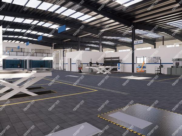 汽车4S站及汽车修理厂工位设计