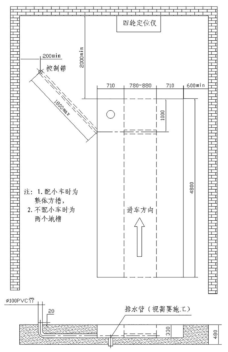 优耐特U-C45&P45单层&平板大剪地基图