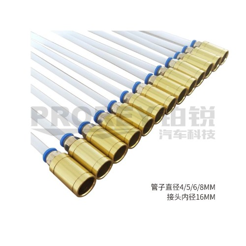 φ5×800mm(PA) 接头内径16 耐高温抽接油机吸油管抽油针管抽油管