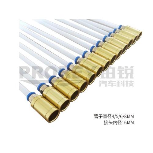 φ6×800mm(PA) 接头内径16 耐高温抽接油机吸油管抽油针管抽油管