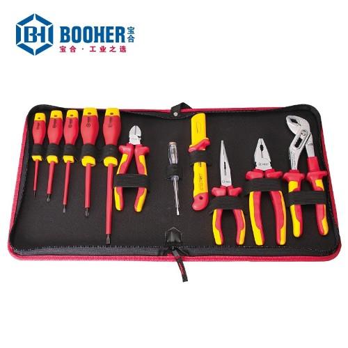 宝合 0200102 11件绝缘电工工具组套