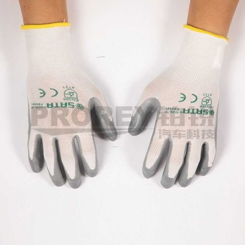 世达 FS0401 丁腈手套(掌浸)7英寸