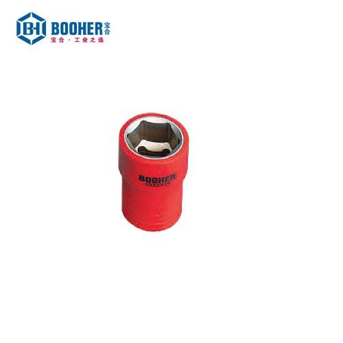 宝合 0222210 1/4英寸绝缘公制套筒10mm