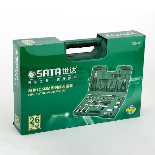 世达 09501 26件12.5mm系列综合组套